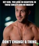 No Makeup Sunday – ThankGawddd!