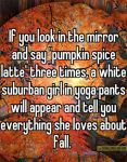 Excited For Fall? MeToo!