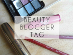 Monday Update: Beauty Blogger Tag Edition