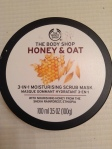 Face Mask Festivities: The Body Shop's Honey & Oat Edition