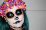 Sweet As Sugar Skull Costume Makeup