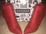 If The Shoe Fits: Lil Red Booties Edition