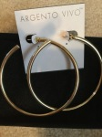 Accessory Story: Argento Vivo Hoop Earrings Edition
