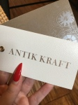 It's In The Bag: Antik Kraft Edition