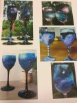 Galaxy Wine Glass Craft