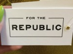 New For The Republic Sweater