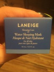 Face Mask Festivities: Laneige Water Sleeping MaskEdition