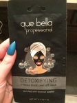 Face Mask Festivities: Que Bella Professional Detoxifying Peel Off Mask Edition